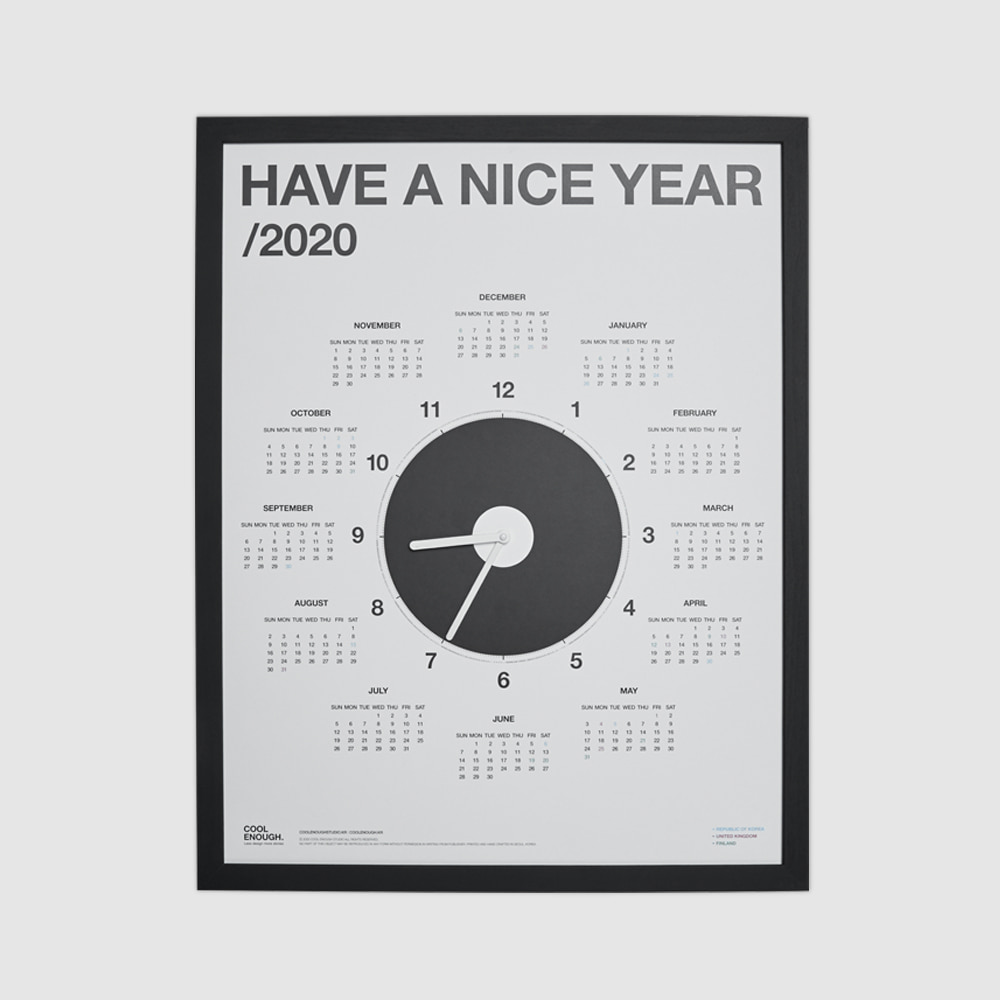 HAVE A NICE YEAR 2020_FRAME