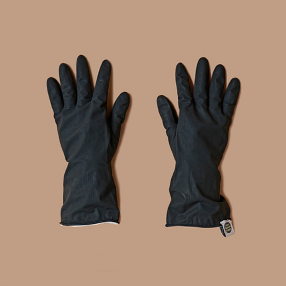 THE RUBBER GLOVES [BLACK]