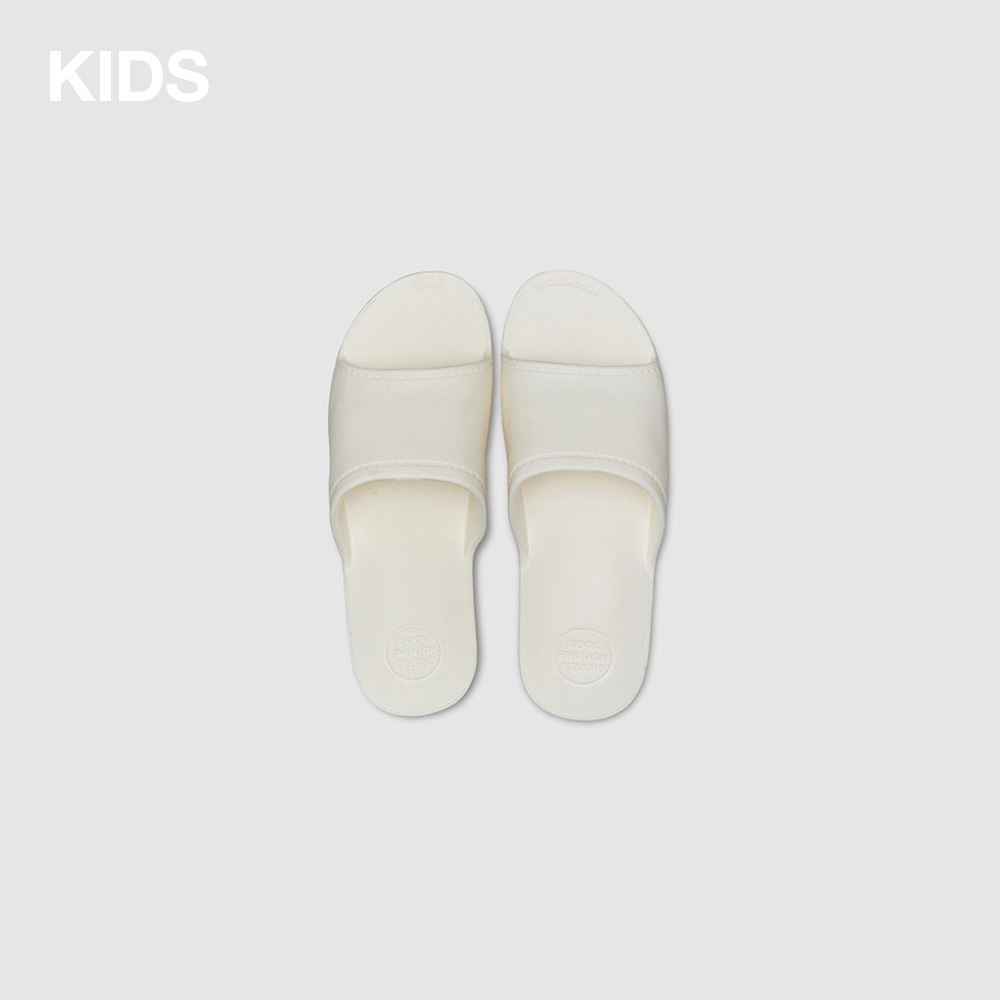 THE PLASTIC SHOES [WHITE] KIDS